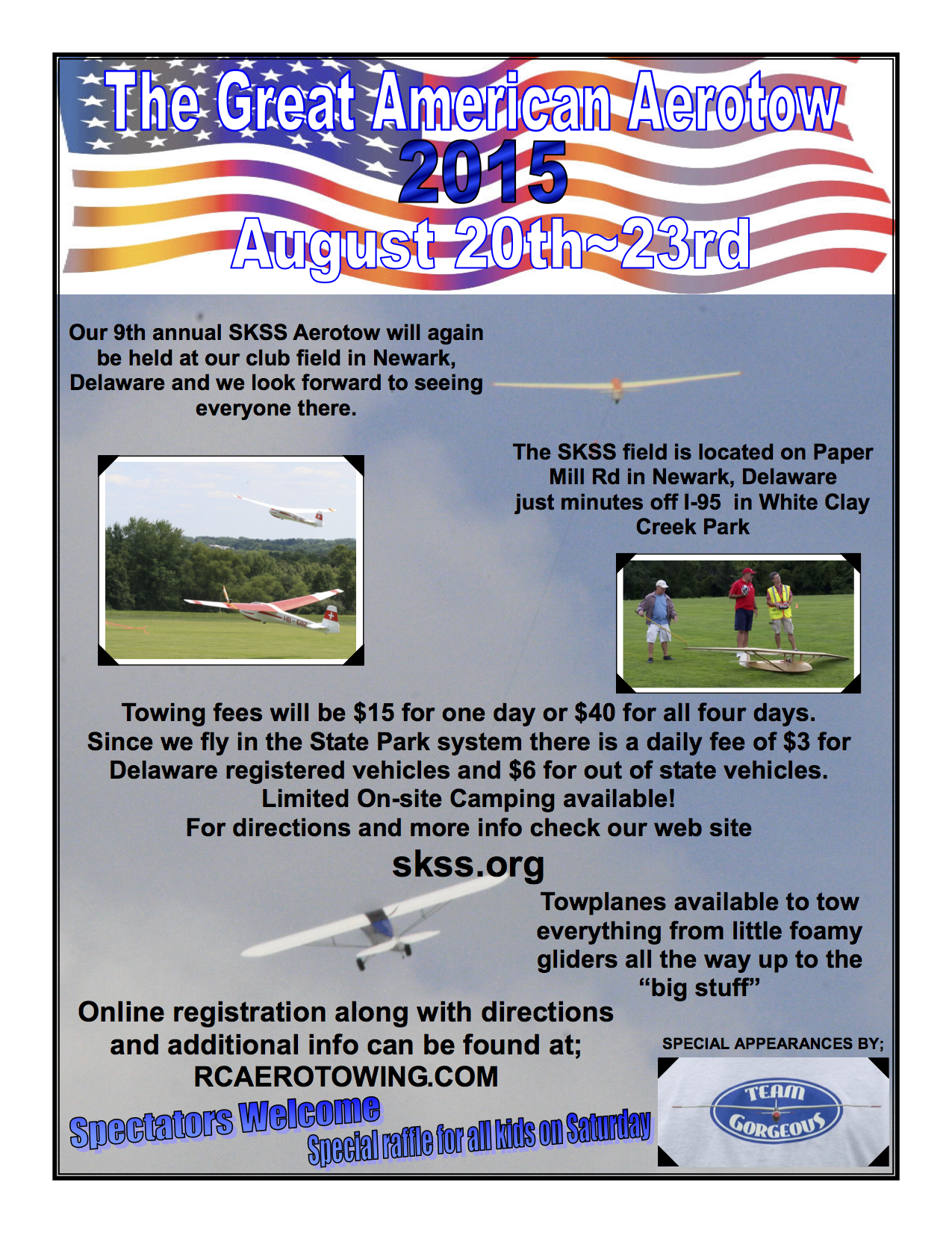 Great American Aerotow August 20-23, 2015