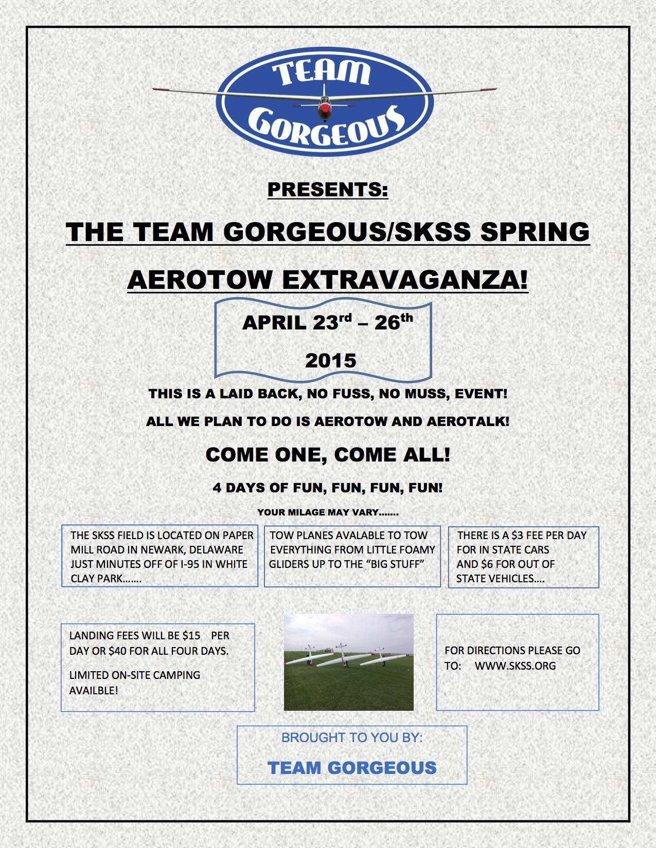 Aerotow April 23-24, 2015